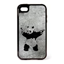 Banksy Panda iPhone 4 3 Piece Case by Banksy