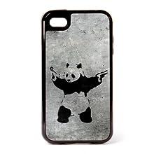 Banksy Panda iPhone 4 3 Piece Case by Banksy