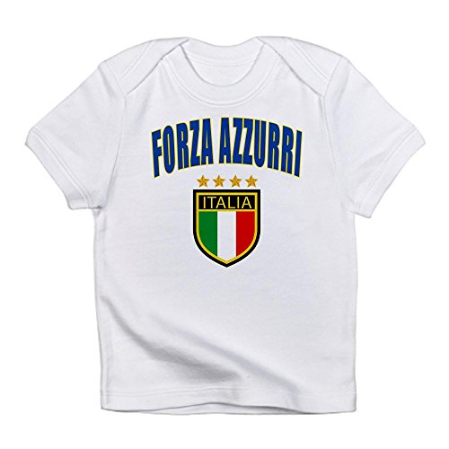 CafePress - Italian World Cup Soccer Infant T-Shirt - Cute Infant T-Shirt, 100% Cotton Baby Shirt (Italian Baby Soccer compare prices)