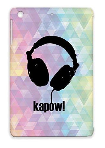 Tpu Scratch-Resistant For Ipad Mini Sound Strange Listen Beat T Shirt Music Art Hip Hop Weird Headphones Hear Stencil Bounce Kapow Shirts Hiphop Beat Bop Music Head Phones Design Beats Black Case