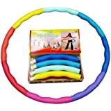 Weight Loss Sports Hoop® Series: Acu Hoop® 3M - 3.2lb (1.5kg) Medium, Weighted Fitness Exercise Hula Hoop