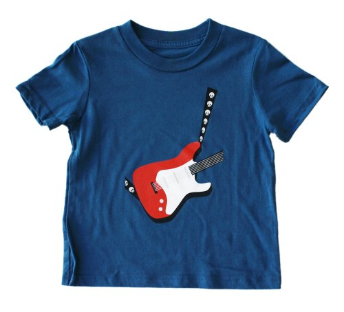 Electric Guitar - Toddler T-Shirt Short Sleeve (2T, Galaxy)