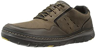 Rockport Men's Activflex Rocsports Light Sport Walking Shoe,Dark Brown,6.5 W US