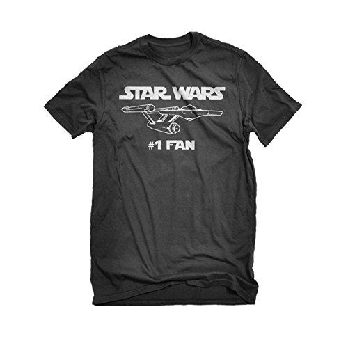 Mens Star Wars #1 Fan Enterprise T-Shirt