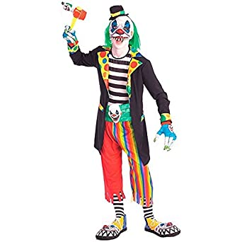 teenager b ser clown kost m halloween karneval verkleidung bekleidung. Black Bedroom Furniture Sets. Home Design Ideas