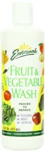 Environne Fruit & Vegetable Wash, 16-Ounce Bottles (Pack of 6)
