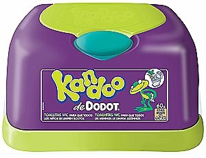 Kandoo Toallitas W.c.(caja 60) Melon por DODOT - BebeHogar.com
