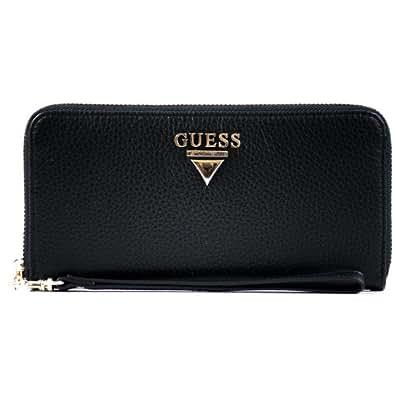 Portafoglio guess nero in pelle per donna collezione luxe for Borse guess amazon