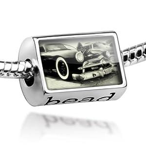 "Beads ""Cars / Classic / Hot Rod 50"" - Pandora Charm & Bracelet Compatible"