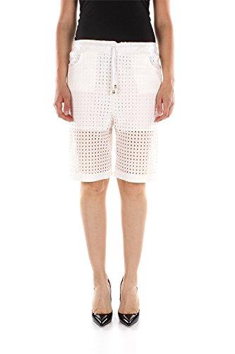 1W10F45169Z17-Pinko-Shorts-Femme-Coton-Blanc