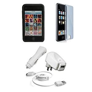 Apple iPod Touch 3G Accessories. Premium Accessory Kit for iPod Touch 3rd Generation