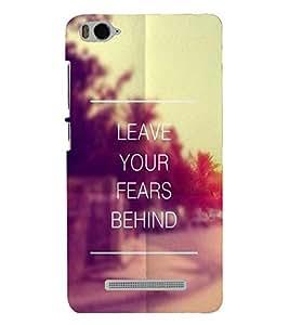 PRINTSHOPPII QUOTES Back Case Cover for Xiaomi Redmi MI 4C::Xiaomi Mi 4C