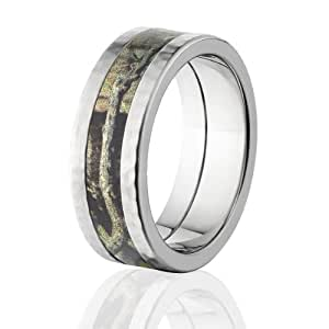 Mossy Oak Ring Camouflage Wedding Bands Break Up Infinity Camo Rings