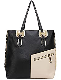 Retro Simple Large Women Shoulder Bag Diagonal Zipper Handbag