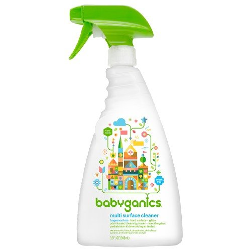 Babyganics Multi Surface Cleaner, Unscented 32 oz (Babyganics Multi Surface Cleaner compare prices)