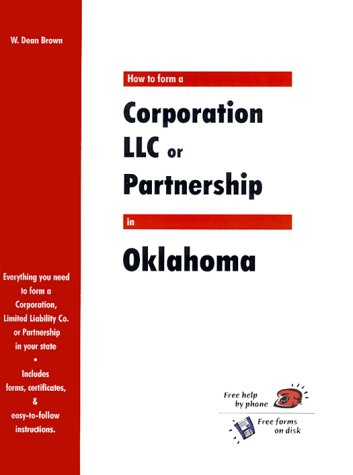 How to Form a Corporation, LLC or Partnership in Oklahoma (QuickStart)