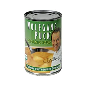 Wolfgang Puck Organic Creamy Butternut Squash Soup 14.5 oz. (Pack of 12)
