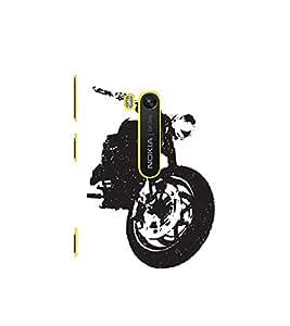 Stylish Bike 3D Hard Polycarbonate Designer Back Case Cover for Nokia Lumia 920 :: Microsoft Lumia 920