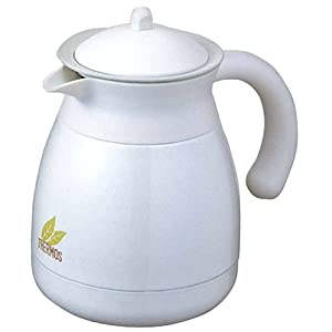 Thermos Vacuum Insulated Teapot W Strainer Tgr 600 Pearl White Amazon Ca Home Amp Kitchen