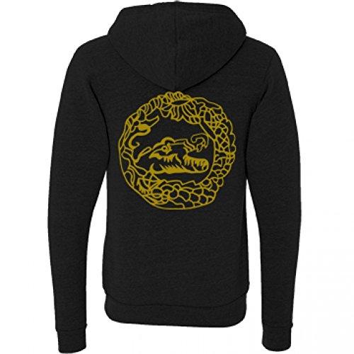 Killer-Croc-Costume-Sweatshirt-Unisex-Canvas-Triblend-Full-Zip-Hoodie