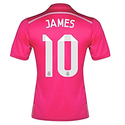 JAMES RODRIGUEZ #10 2014-15 REAL MADRID AWAY SOCCER JERSEY (US SMALL ( L ))