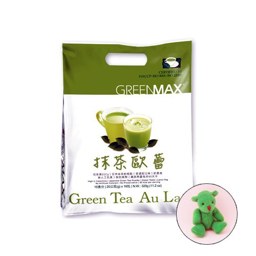 Matcha Green Tea / Green Tea Matcha Au Lait / Milk Tea (Family Bonus Pack /11.2Oz / 18 Tea Bags)