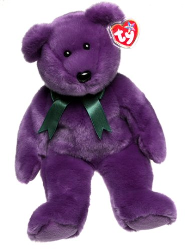 TY Beanie Buddy - EMPLOYEE the Bear