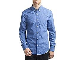 Scotchtree Men's Shirt (sco_012_Blue_X-Large)