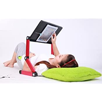 SP iCraze fOr iPad - Adjustable Vented Laid-back Tablet & Laptop Table Desk Portable Bed Tray Book Stand Multifunctional & Ergon at Sears.com