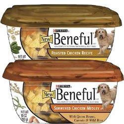 Beneful Roasted Chicken Tub Dog Food