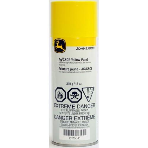 John Deere Yellow Spray Paint