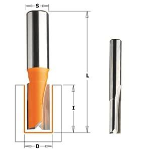 5//16-Inch Diameter 1//2-Inch Shank CMT 811.581.11 Straight Bit