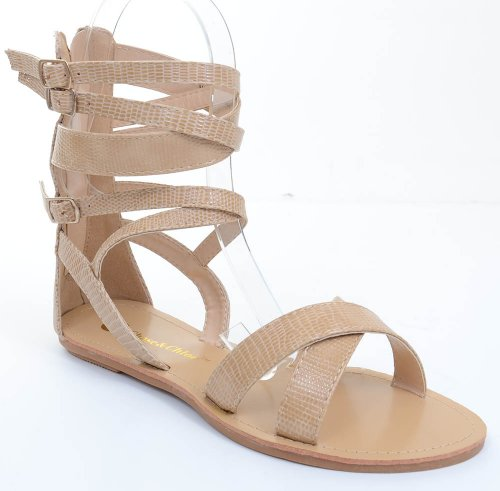 Funky Wedge Sandals front-994166