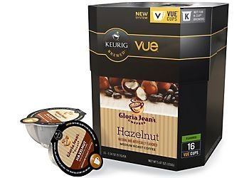 Keurig Gloria Jean's Coffee Hazelnut Vue Pack - 16 Count - 9309016, Garden, Lawn, Maintenance