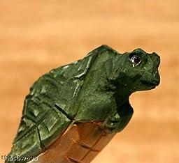 Collectible 6pc Wooden Turtle Pen Set