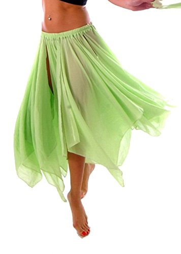 BELLY DANCE ACCESSORIES 13 PANEL CHIFFON SKIRT