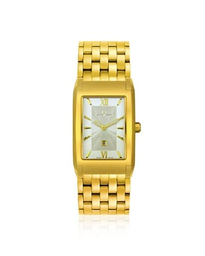 Jacques Lemans Men's GU182J Geneve Sigma Gold-Tone Stainless Steel Watch