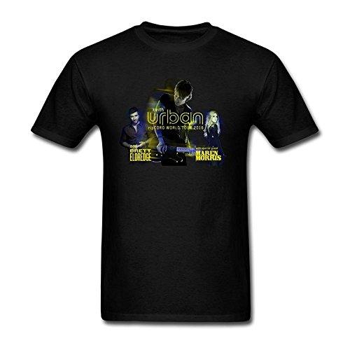 Brand New- BeCiv Men's Keith Urban RipCORD World Tour 2016 T shirts