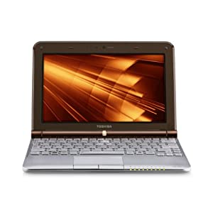 Toshiba Mini NB305-N440BN 10.1-Inch Netbook (Java Brown)