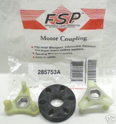 285753a Factory Oem Genuine Whirlpool Kenmore Direct Drive Washer Motor Coupling This Is Not
