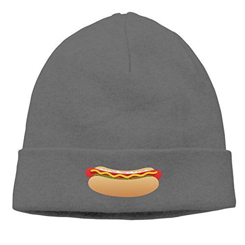 Hot Dog Sausage Design Beanie Hats For Men Women DeepHeather (Hot Dog Beanie compare prices)
