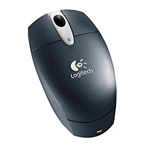 Logitech V270 Cordless Optical Bluetooth Mouse- Charcoal