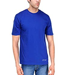 AWG Men's Jersey Round Neck Dryfit T-shirt - Royal Blue - AWGDFT-RB-S