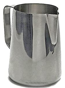 33 oz. Espresso Coffee Milk Frothing Pitcher, Stainless Steel (18/10 Gauge) from Update International
