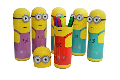Buy Infinxt Sketch Pens Set In Minions Shaped Box For Kids Birthday Party Return Gift Pack Of 6 On Amazon