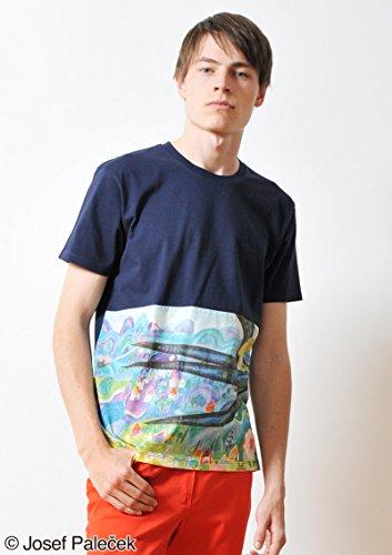 ( グラニフ ) graniph ヨゼフパレチェク Tシャツ / おやゆびひめとツバメ ( おやゆびひめ ) ( ネイビー ) SS