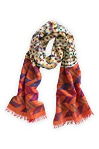 Asian Eye Omni Cotton Fair Trade Scarf