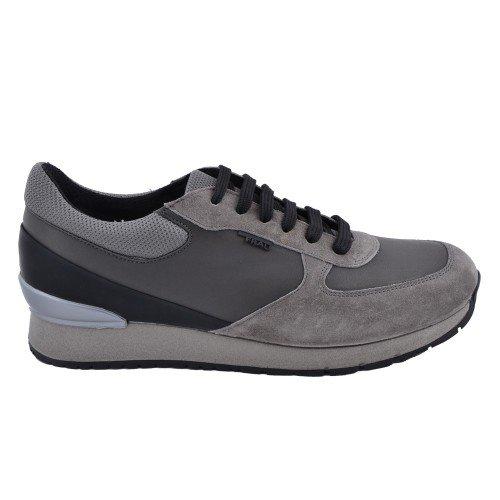Scarpe Uomo Frau Sneakers Suede 23F5 Grigio Antracite Ai 2015 - 43, -