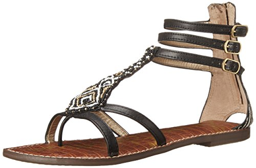 Sam Edelman Giselle, Sandali donna, Nero (Schwarz (BLACK SOUVAGE LEATHER / B)), 39