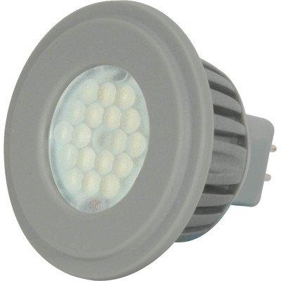 Kolourone Led 4 Watt Gu5.3 Mr16 Lamp Beam Angle: 60°, Color Temperature: 3500K, Finish: White